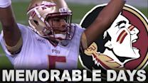 Jameis Winston's Most Memorable Days