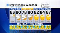 Kate's Wednesday Evening Forecast At 5 PM: August 20, 2014