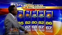 Meteorologist Tim Williams Has Your Wednesday Morning Forecast