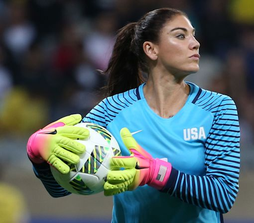 U.S. Soccer terminates Hope Solo's national team contract, bans her six months