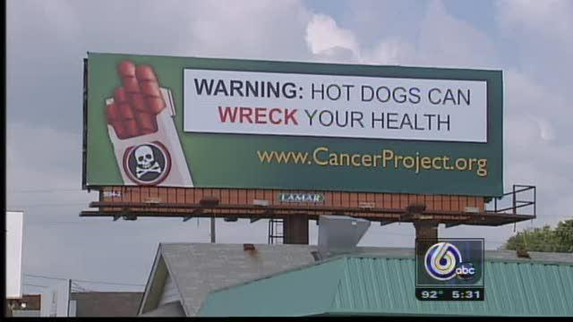 NASCAR Fans Told Hot Dogs Will 'Wreck' Them