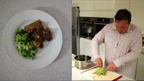 Michael's steamed steak and kidney pudding