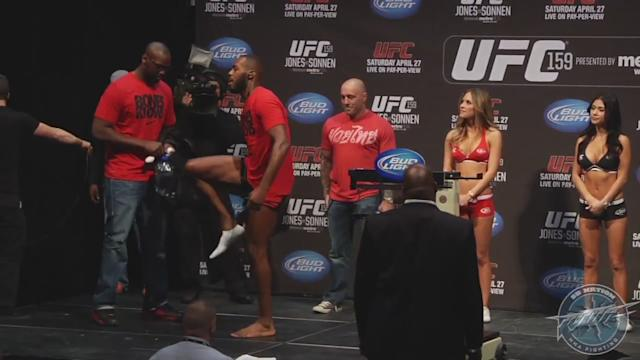 UFC 159 Weigh-Ins: Jon Jones vs. Chael Sonnen