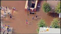 Massive Water Main Break Puts UCLA Campus Underwater