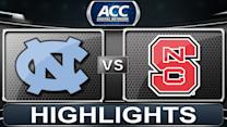 North Carolina vs NC State | 2014 ACC Women's Basketball Highlights