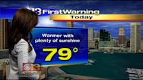 Meteorologist Chelsea Ingram Has Your Tuesday Afternoon Forecast