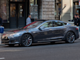 A woman in Arizona stole a Tesla Model S, but it ran out of battery as she tried to make her escape (TSLA)
