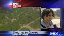 Witness: Campus shooting victim was conscious