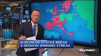 European markets close flat to negative