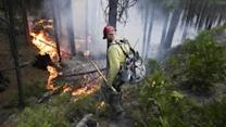 Unmanned drones help in battle against Rim Fire