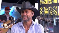 Tim McGraw Takes Fans to 'Sundown Heaven Town'