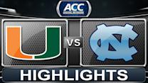 Miami vs North Carolina | 2013 ACC Football Highlights
