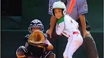 Ruy Martinez (all 4-foot-8 of him) hits long home run at LLWS