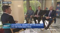 Bill Ackman: 100% confident on Herbalife thesis