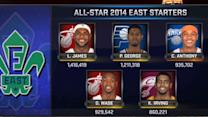 East All-Star Starters