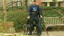 Robotic exoskeleton could help paraplegics walk again