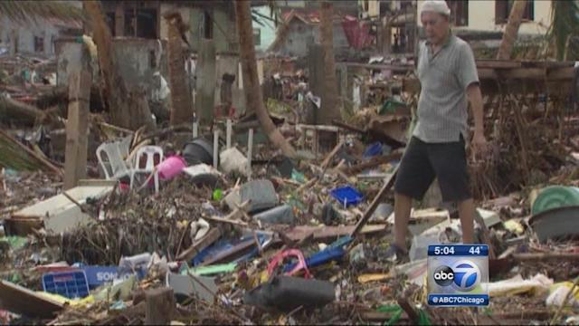 Chicagoans concerned over Philippines typhoon