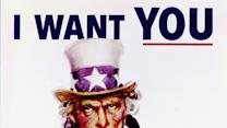 "'Uncle Sam' for sale:  Iconic World War I ""I Want You"" poster at auction"