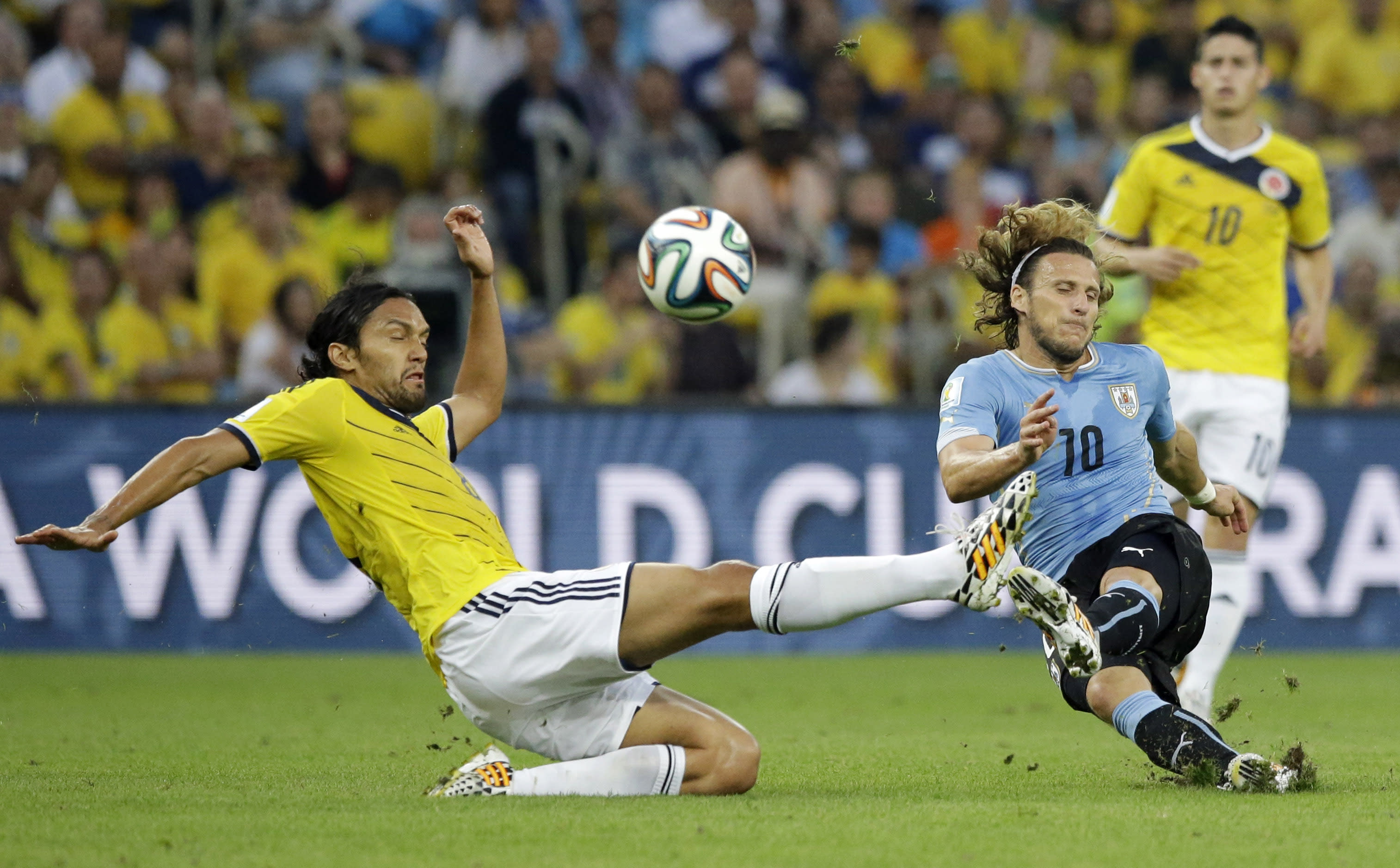 Colombia Vs Uruguay: World Cup Round Of 16