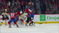 Lars Eller crushes Campbell in open-ice