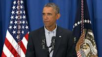 President Obama Calls for 'Peace and Calm' in Ferguson