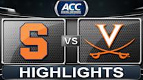 Syracuse vs Virginia | 2014 ACC Basketball Highlights