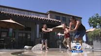 SoCal residents try to stay cool in the heat
