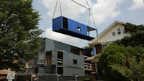Home Sweet Shipping Container?