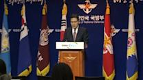 South Korea condemns missiles fired by North