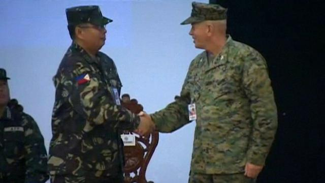 U.S. & PHILIPPINES LAUNCH MILITARY EXERCISES