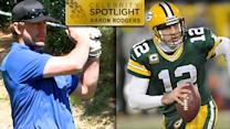 Celebrity Golf Spotlight: Aaron Rodgers