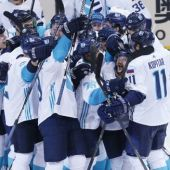 Team Europe stun Sweden in OT to reach ice hockey World Cup final