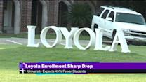 Loyola University prepares for sharp drop in enrollment