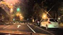 Dash Cam Captures Gas Explosions in Kaohsiung