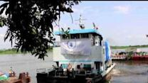 Nile Boats Transport Food Aid to Upper Nile State