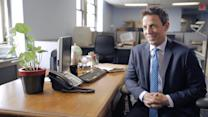 My First Job - Seth Meyers On His First Job as a Sandwich Delivery Guy & Naming His Car Le Seth