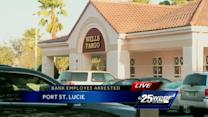 Woman says bank employee who helped her actually stole from her