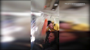 VIDEO: Flight attendant, beverage cart smash into ceiling during violent turbulence