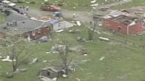 Aerial Video: Surveying Storm Damage
