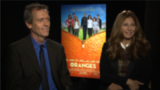 Hugh Laurie Is Still Recovering From His Fight Scene With Catherine Keener
