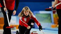Erika Brown represents 'The First Family of Curling' in Sochi