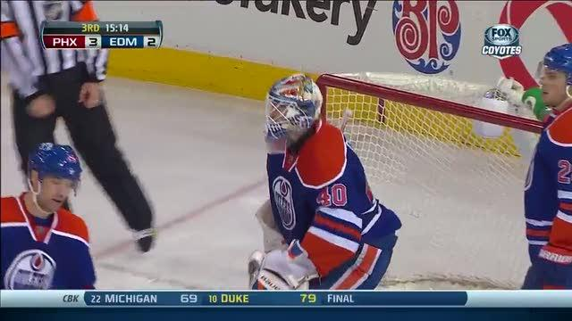 Mike Ribeiro rockets one past Dubnyk