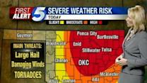 High Risk Issued For OKC Metro Area
