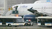 JetBlue Flight Makes Emergency Landing At California Airport, Four Hurt