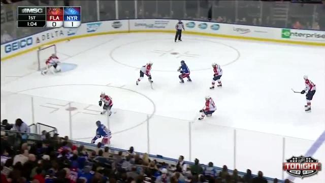 Florida Panthers at NY Rangers Rangers - 11/10/2013