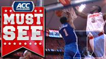 Duke's Jabari Parker Goes Baseline for Monster Reverse Jam | ACC Must See Moment