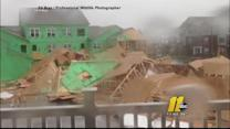 Weather damage across the Triangle