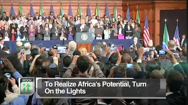 Latest Business News: To Realize Africa's Potential, Turn On the Lights