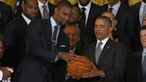 Chris Bosh on Obama's Hoop Dreams: Sometimes You Just Miss