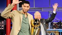 David Letterman - Tim Duncan of the NBA Champion San Antonio Spurs